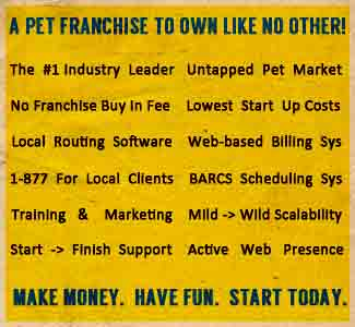 Pet Franchise Opportunity