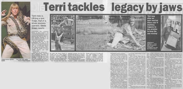 Terri Irwin Tackles Legacy By Jaws