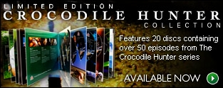 Crocodile Hunter Limited Edition CDs'